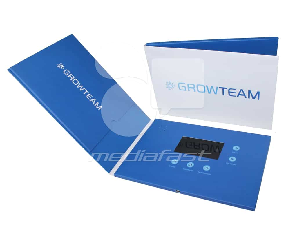"Grow Team Video Brochure 6.9 X 10: Screen: 4"""