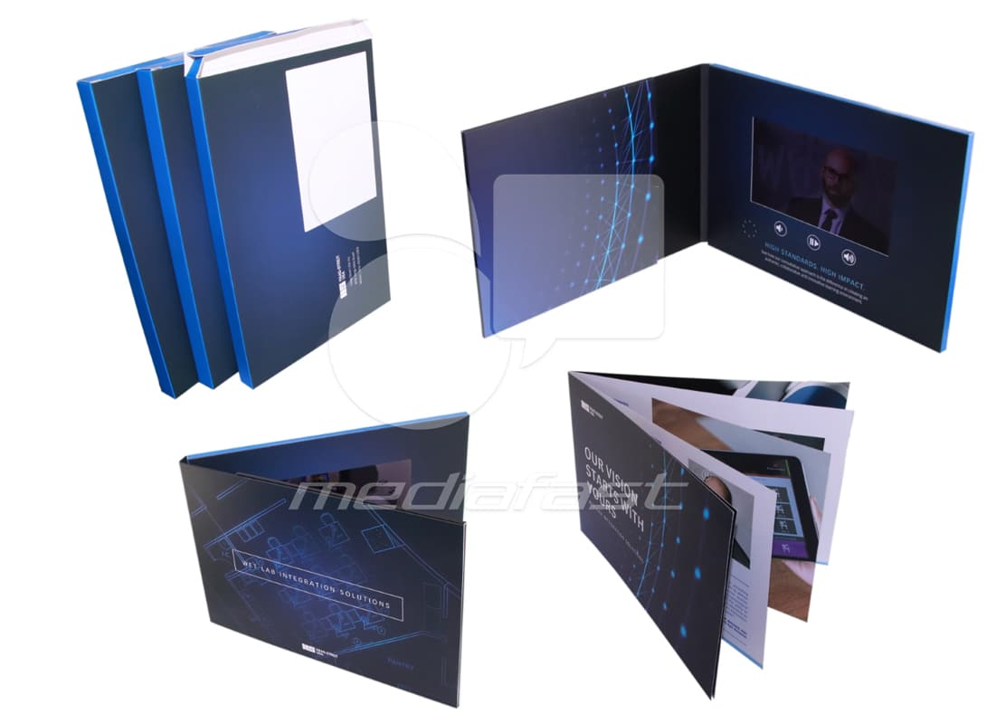 "HAAG- STRAIT USA Video Brochure 7.48 X 10.5: Screen: 7"""