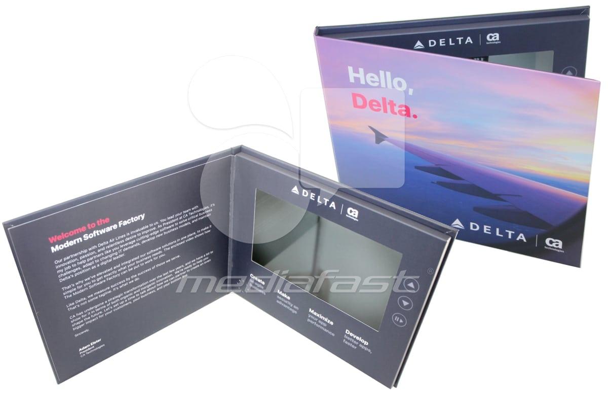 "Hello Delta Video Brochure 6.6 X 8.2: Screen: 7"""
