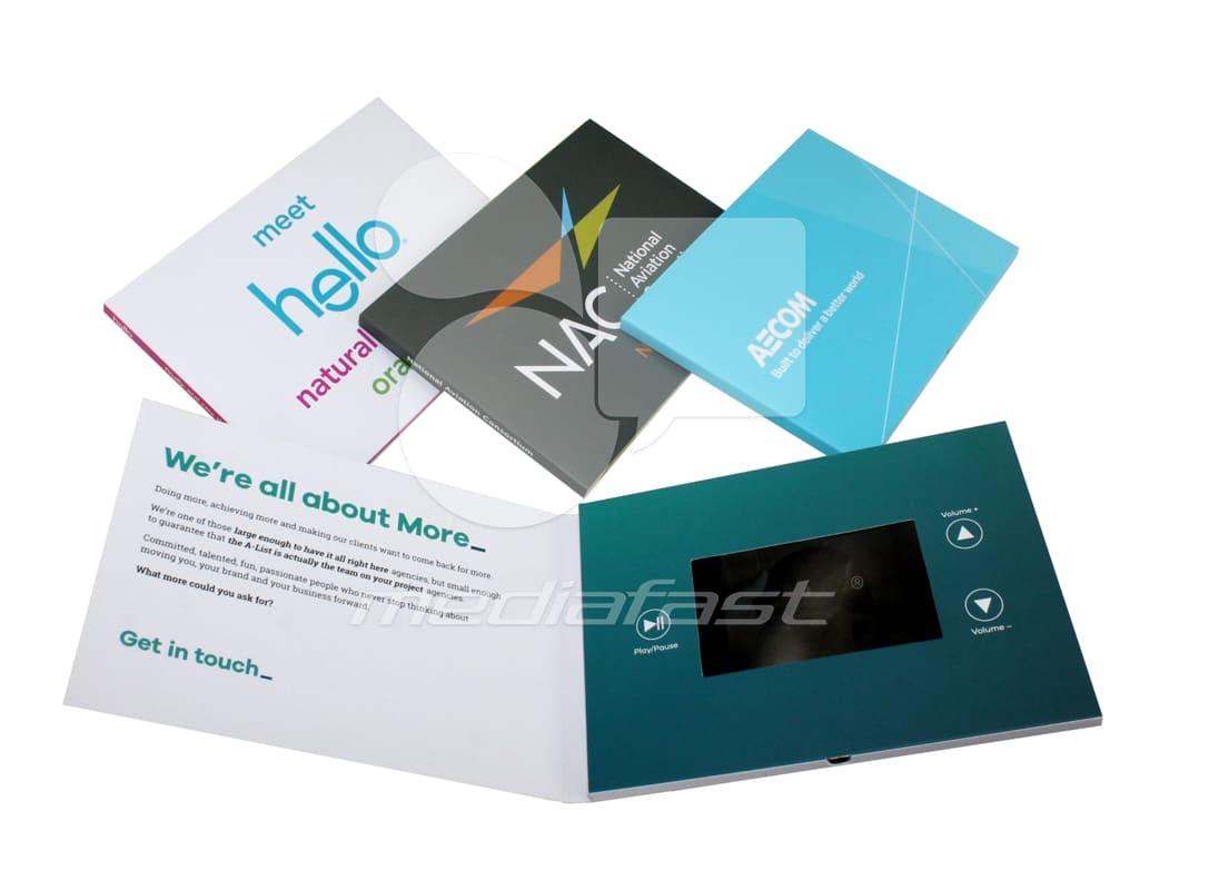 "Hello- NAC - Aecom Video Brochure 5 X 7: Screen: 4"""