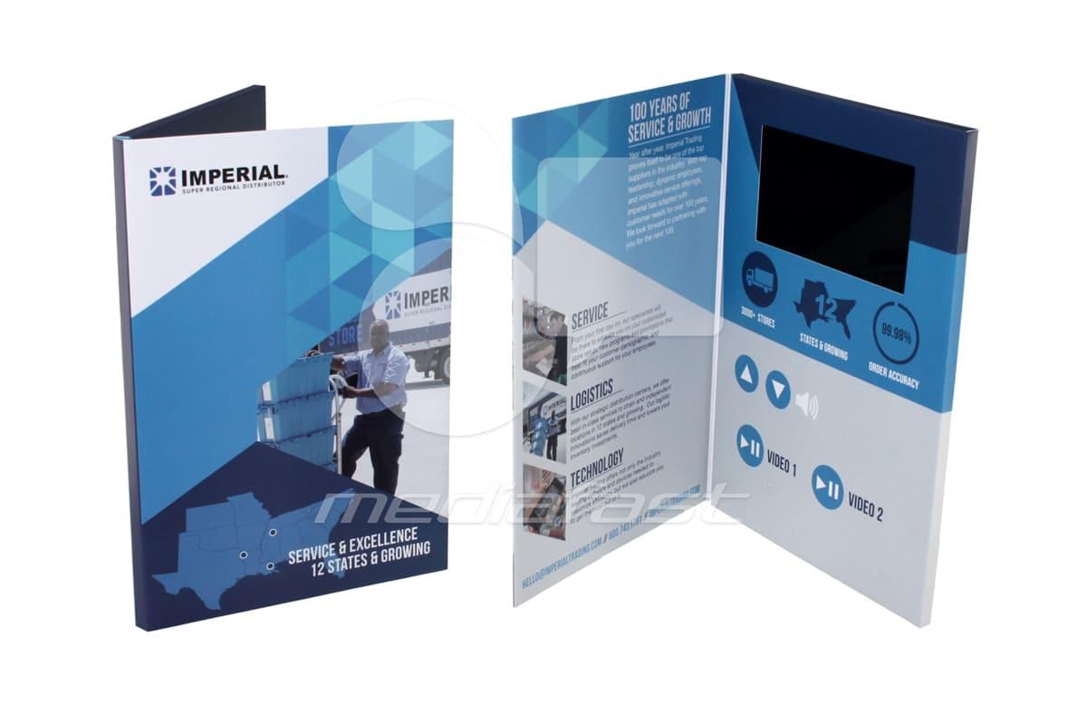"Imperial Video Brochure 6.4 X 9.64: Screen: 5"""