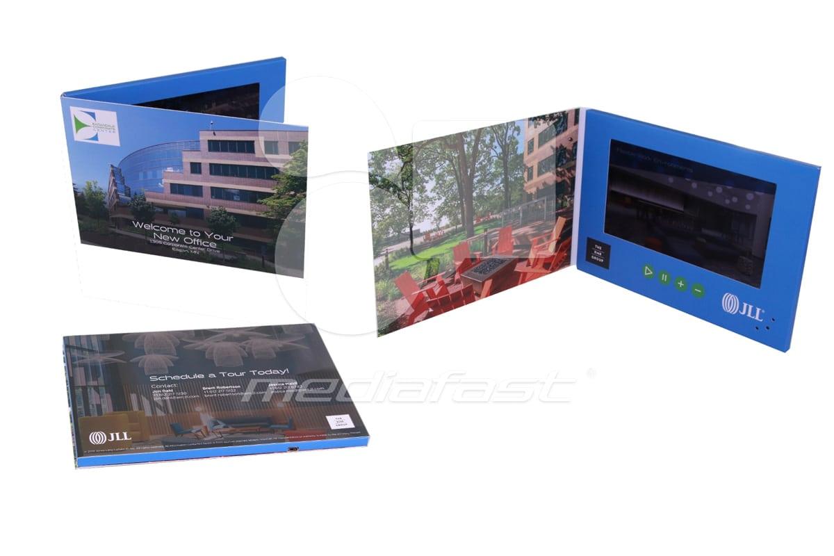 "JLL Video Brochure 5.8 X 8.2. Screen:7"""