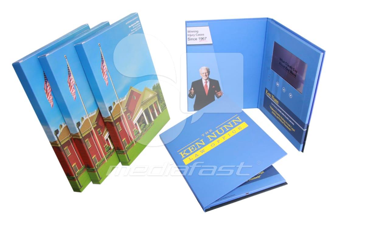 """Ken Nunn Law Office Video Brochure 9 X 12. Screen:7"""""""