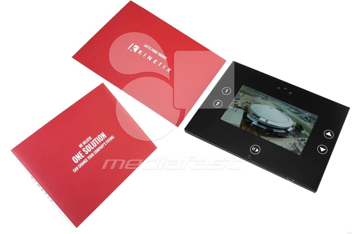 "Kinetix Video Brochure 5 X 7. Screen:4"""