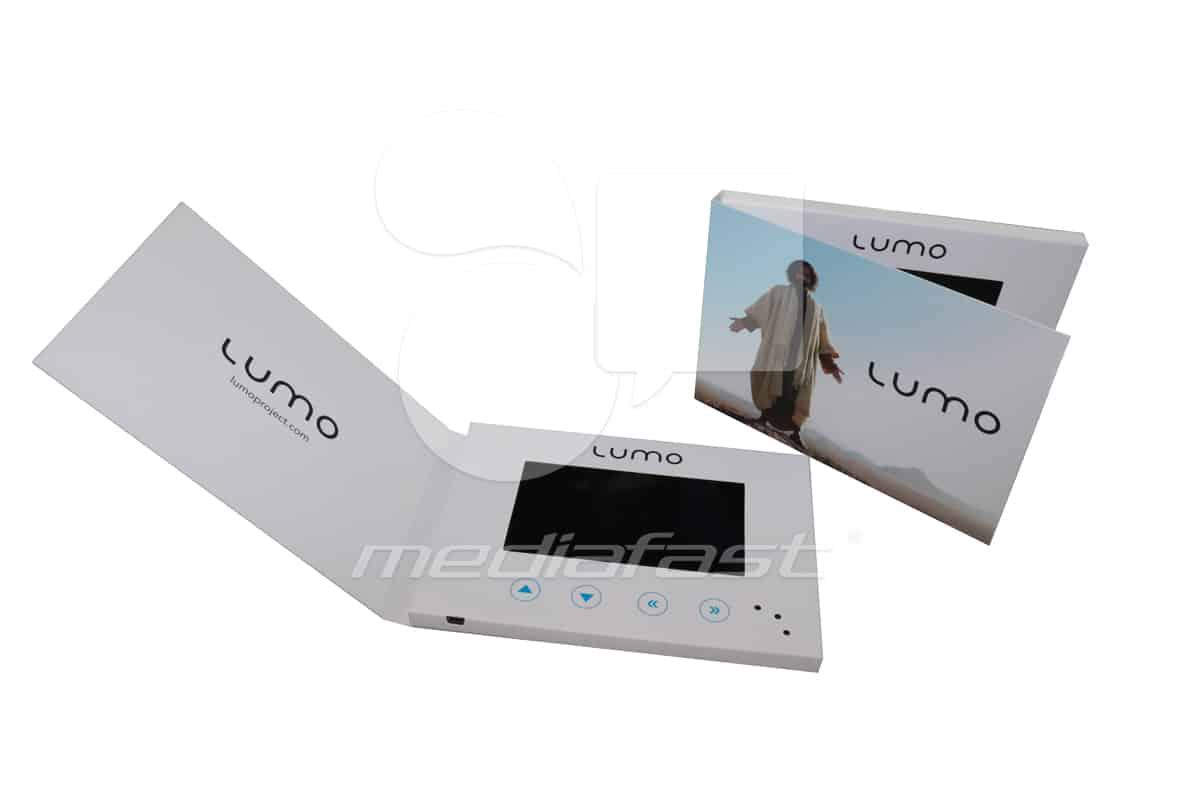 """LUMO Video Brochure 5 X 7. Screen:5"""""""