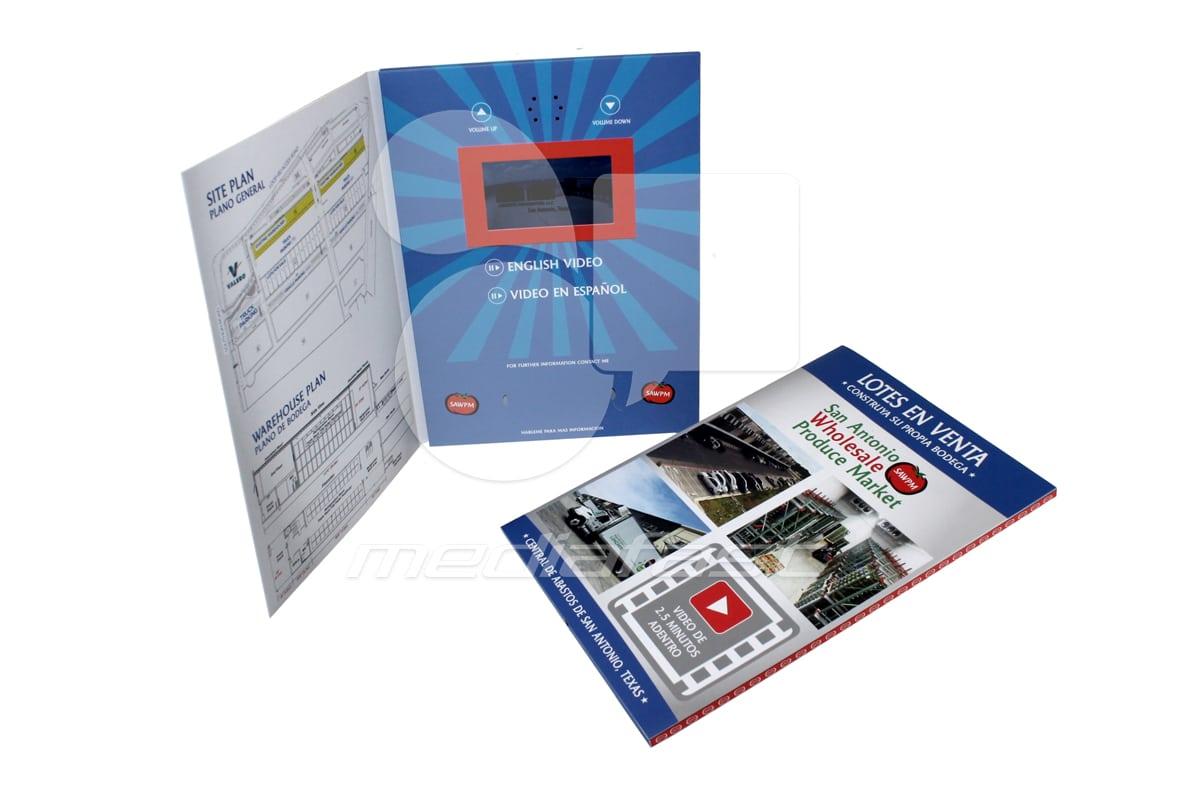 "Lotes en Venta Video Brochure 9 X 12. Screen:4"""