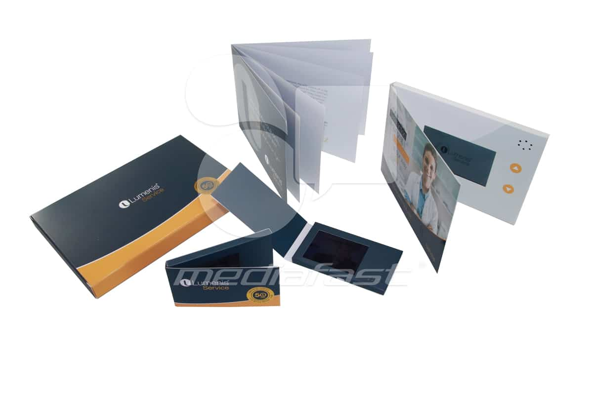 "Lumenis Service Video Brochure 5 X 7. Screen:4"""