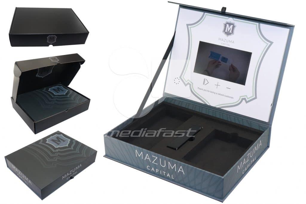 "MAZUMA Video Box 13 x 10 x 2.5 - Screen: 7"""