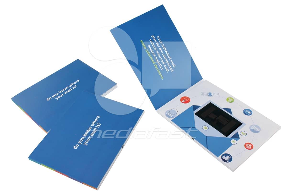 "Mail Video Brochure Video Brochure 5 X 7. Screen:4"""