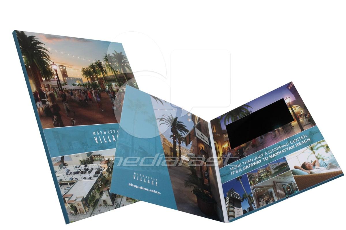 "Manhattan Village Video Brochure 9 X 12. Screen:7"""