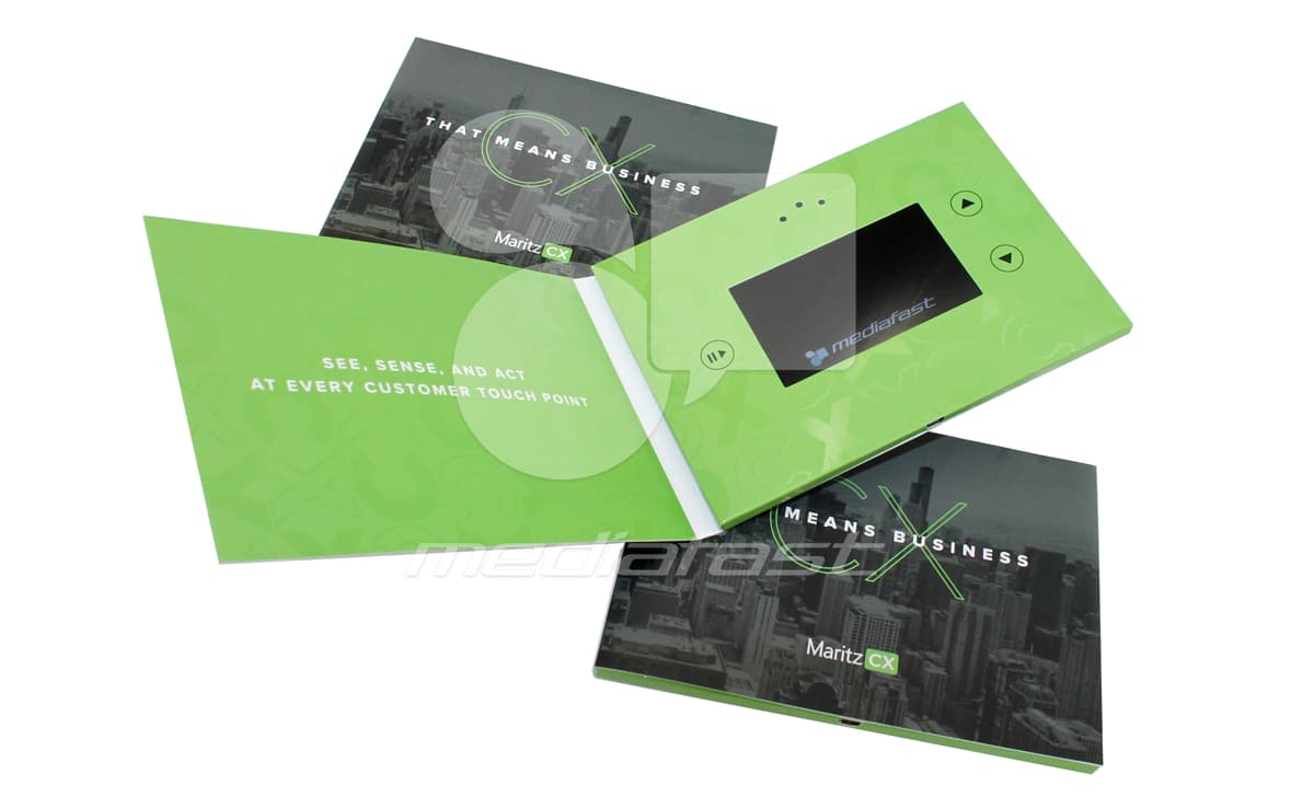 """Maritz CX Video Brochure 5 X 7. Screen:4"""""""