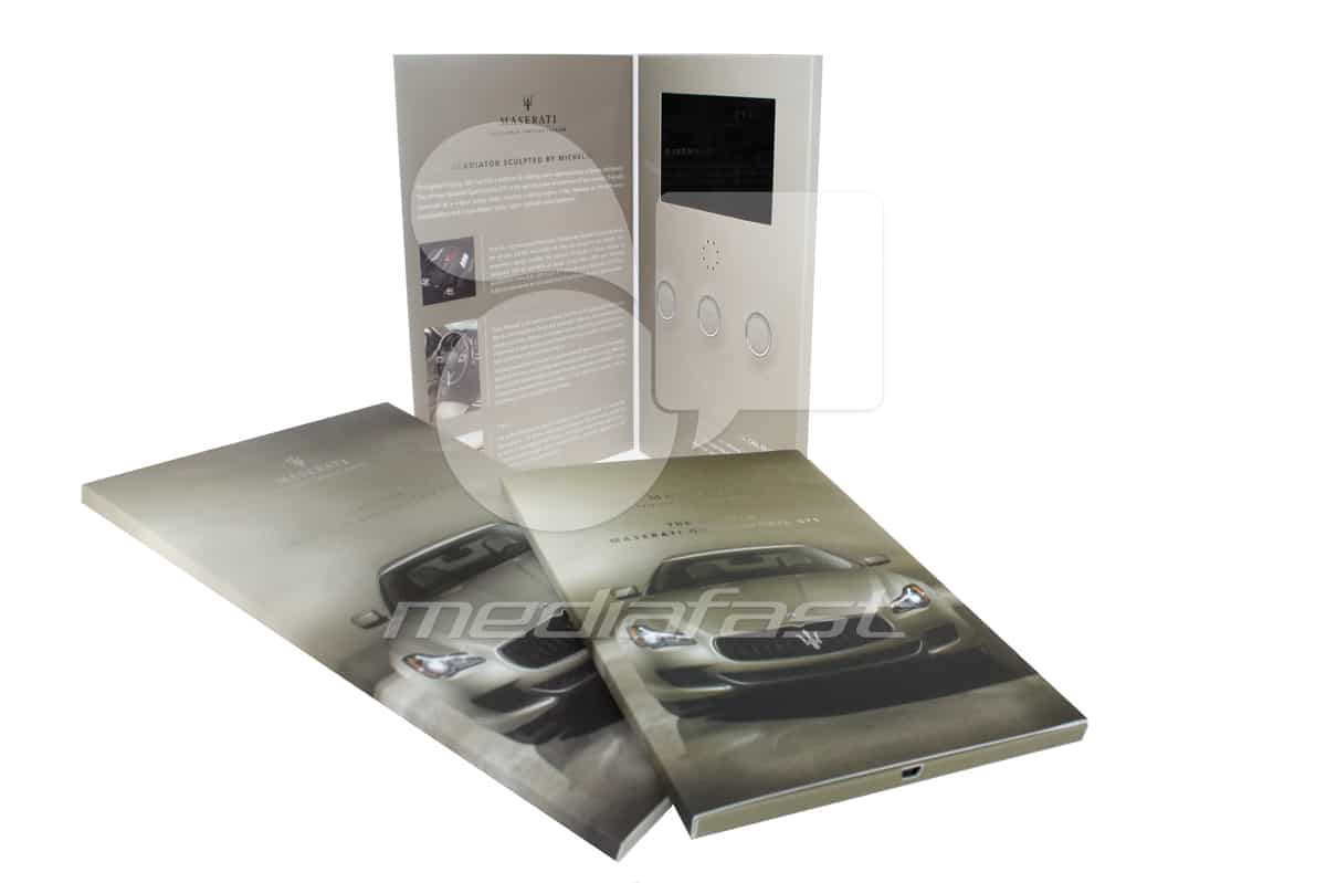 "Maserati Video Brochure 9 X 12. Screen:7"""