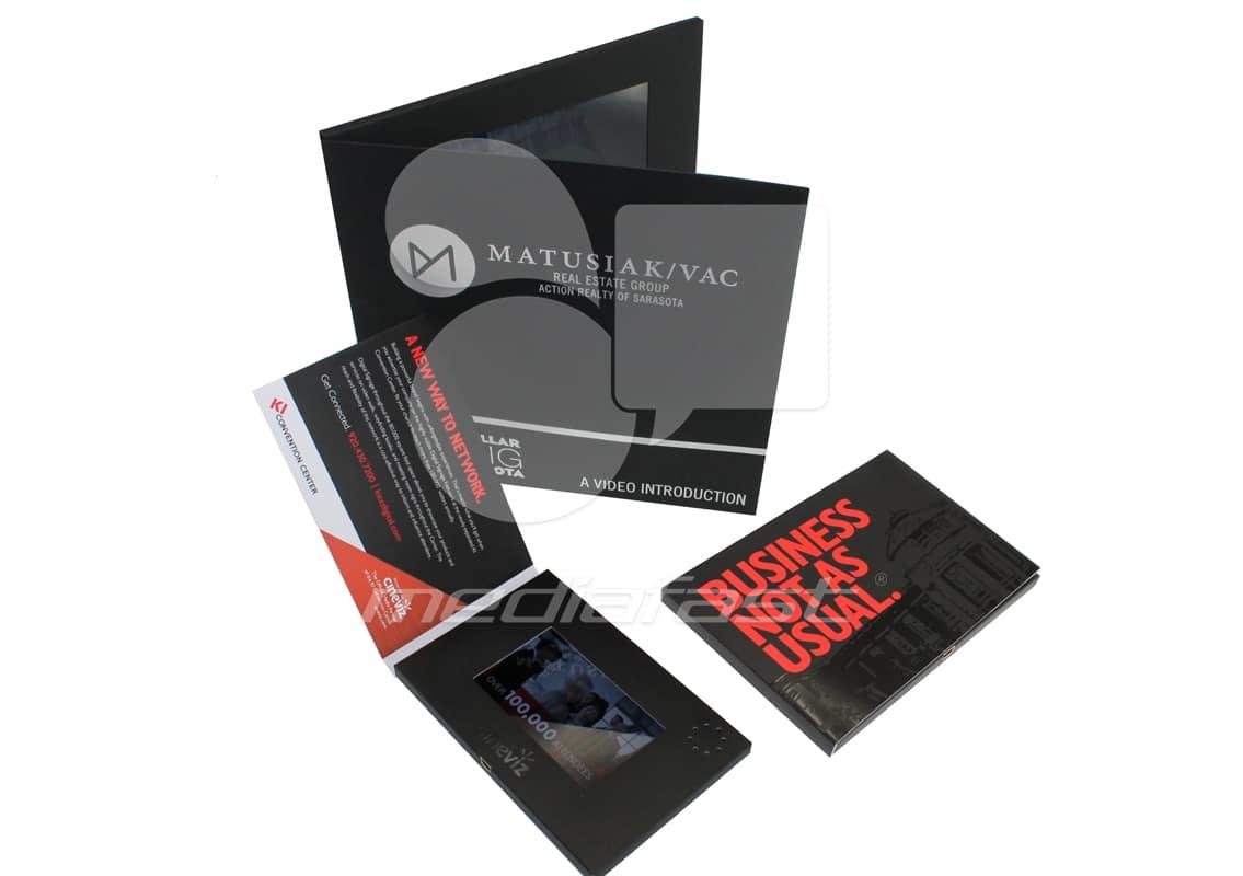 """Matusiak- Vac Video Brochure 9 X 9. Screen:7"""""""