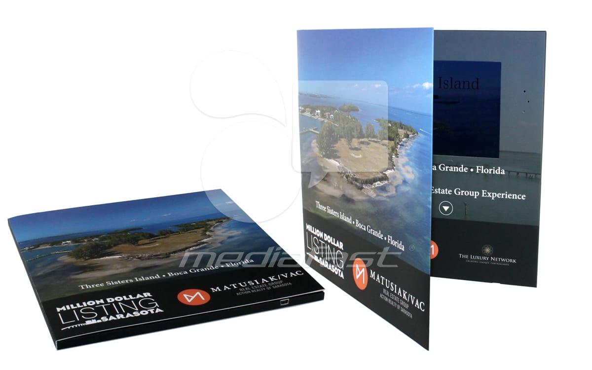 "Masusiak Video Brochure 9 X 12. Screen:7"""