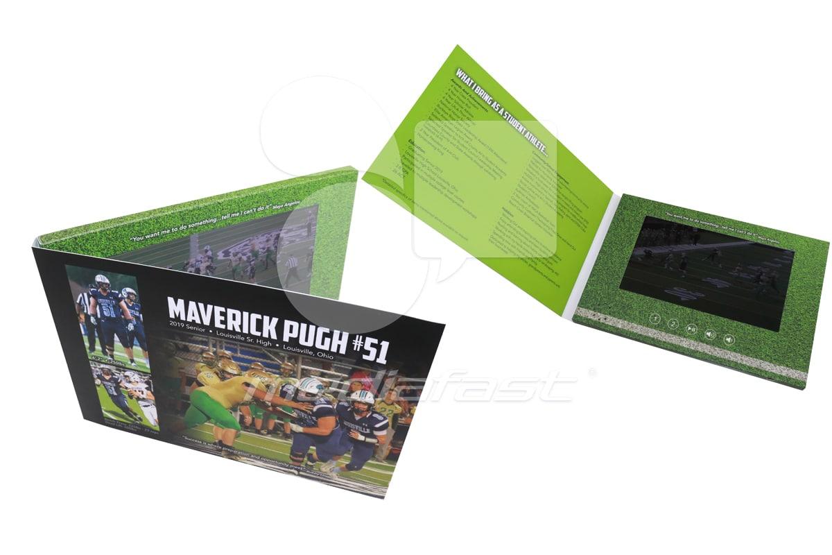 "Maverick Video Brochure 5.75 X 8.62. Screen:7"""
