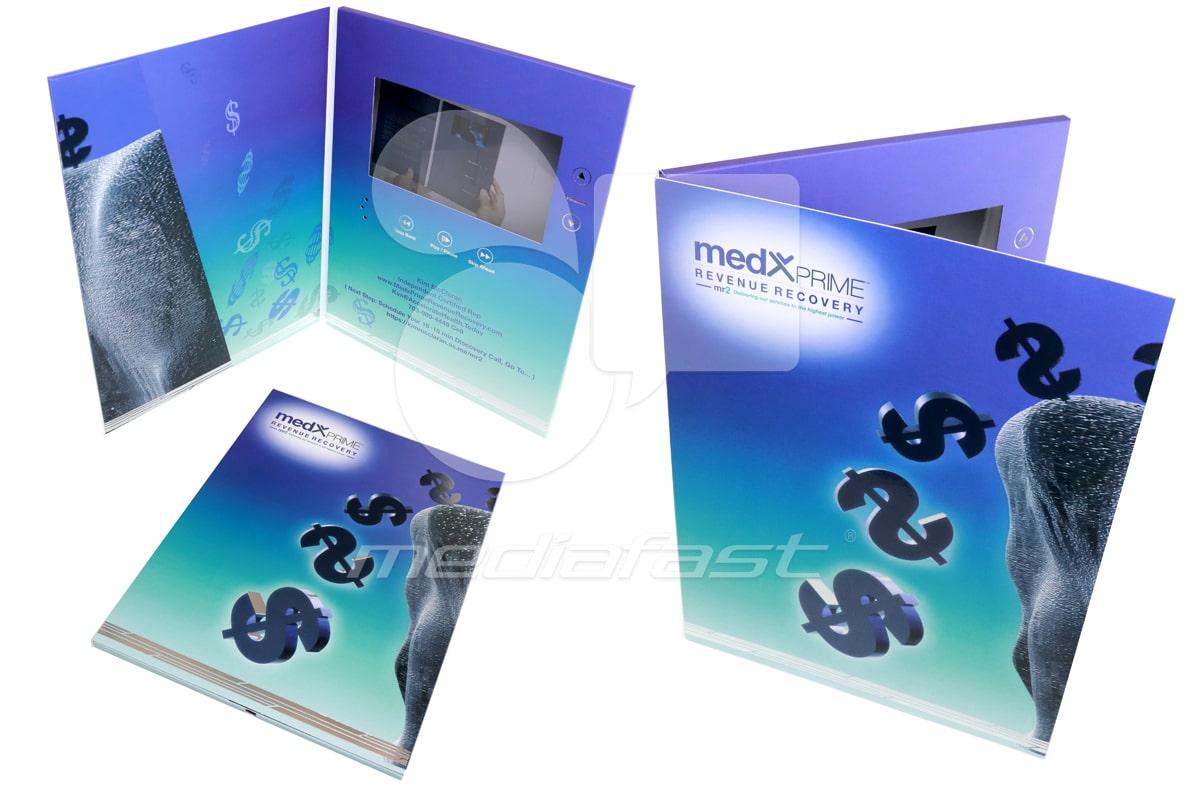 """MedXprime Video Brochure 9 X 12 Screen: 4"""""""