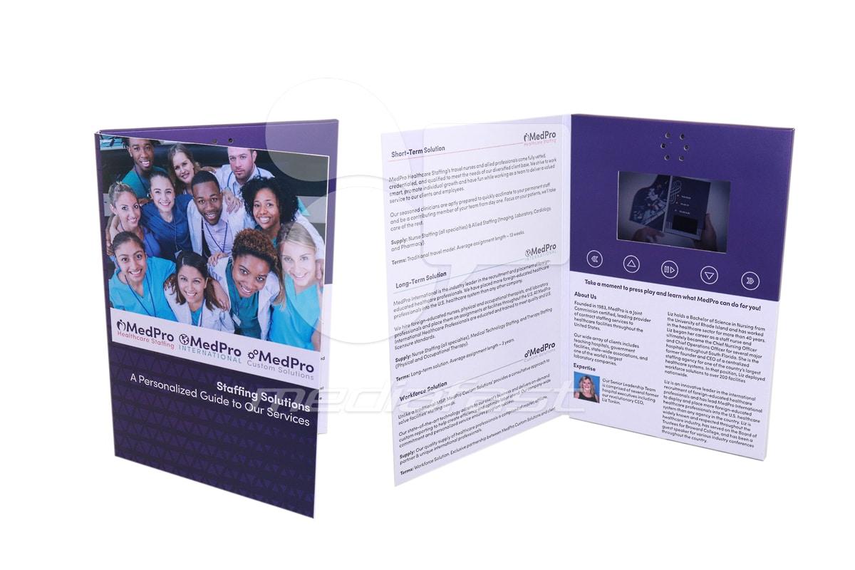 "Med Pro Video Brochure 9 X 12. Screen:?"""