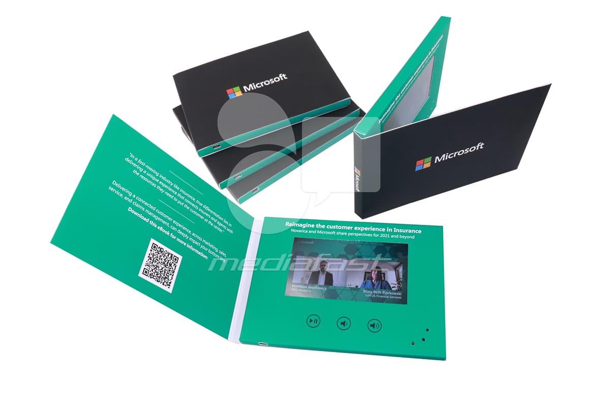 Microsoft Video Brochure 5 x 7 - Screen: 5
