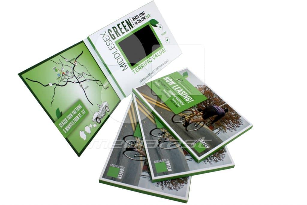 """Green Middlesex Video Brochure 5 X 7 Screen: 4"""""""