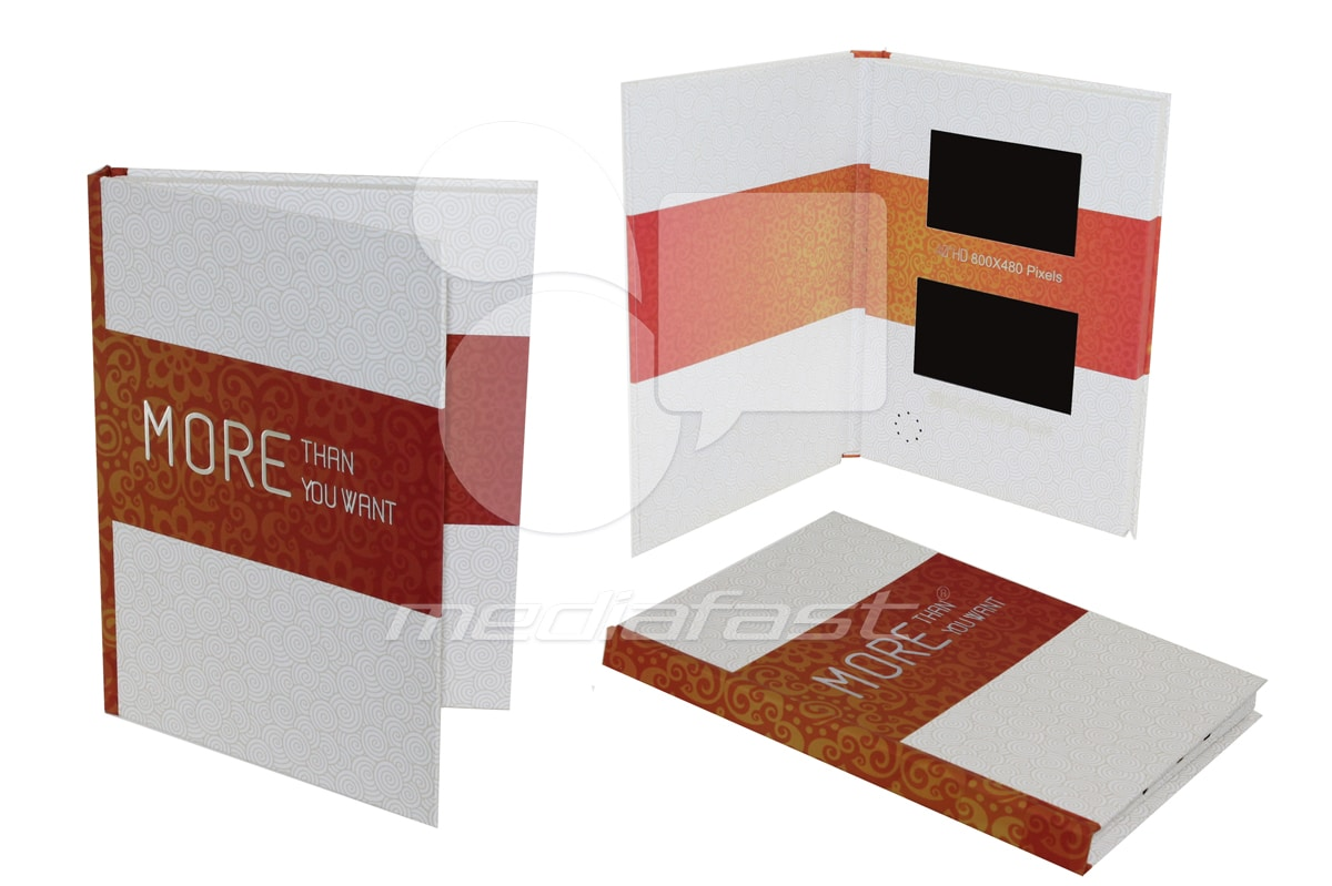 """More Than You Want Hard Cover Video Brochure 9 X 12 Screen: 4"""""""