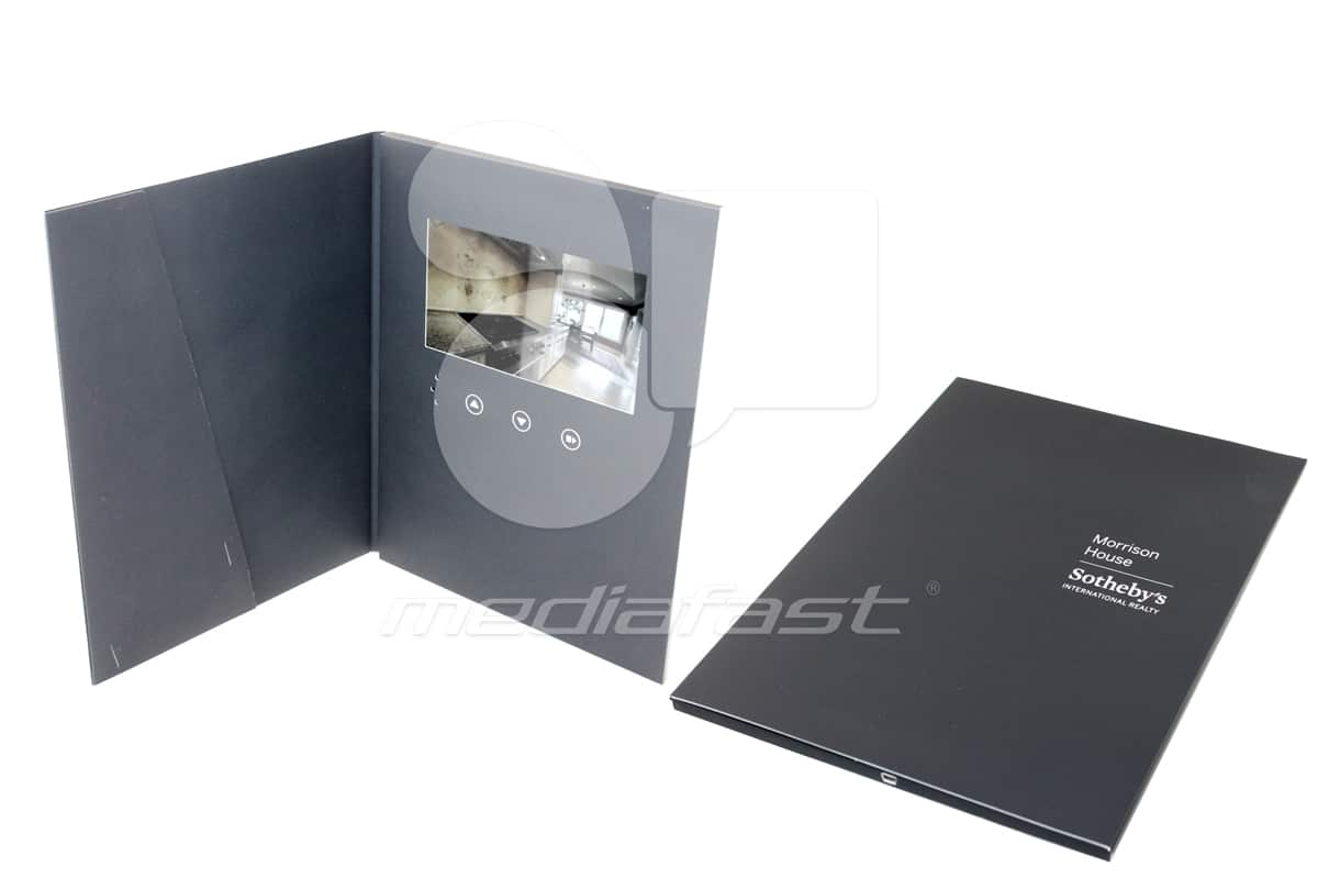 """Sotheby's With Pocket Video Brochure 9/ X 12 Screen: 7"""""""