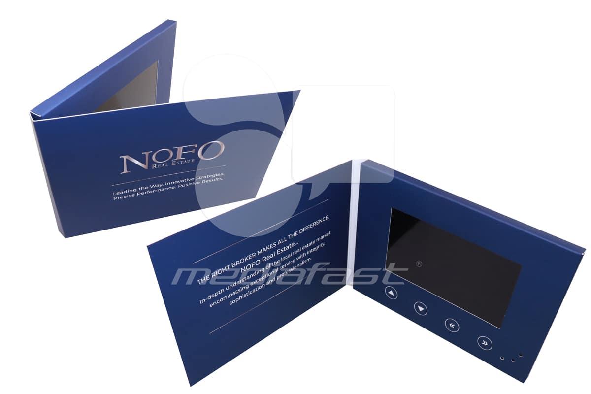 """NOFO Video Brochure 5 X 7- Screen: 5"""""""
