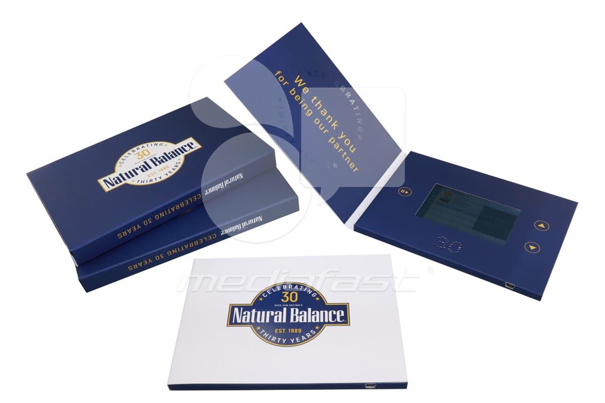 "Natural Balance Video Brochure 5 X 7 Screen: 4"""