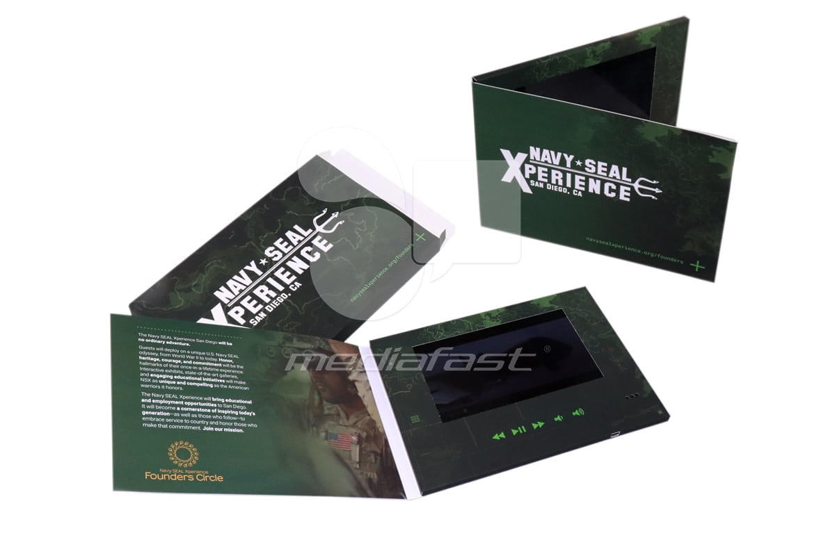 Navy - Seal Video Brochure 6.2 x 8.7- Screen: 7