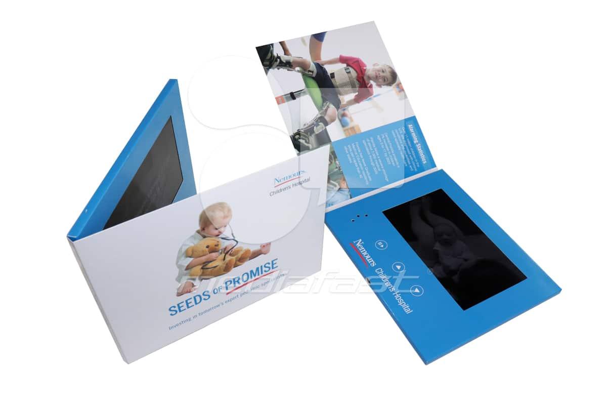 "Nemours Childrens Hospital Video Brochure 6.69 X 8.26 Screen: 7"""