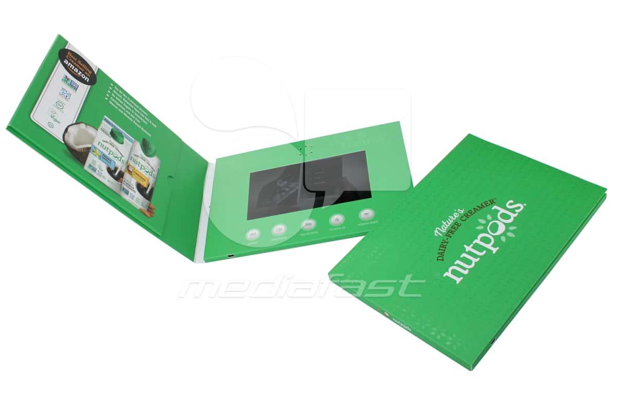 """Nutpods Video Brochure 7 X 10 Screen: 4"""""""