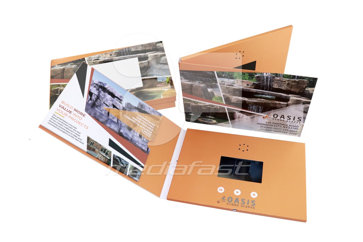 "Oasis Video Brochure 5 X 7 Screen: 4"""