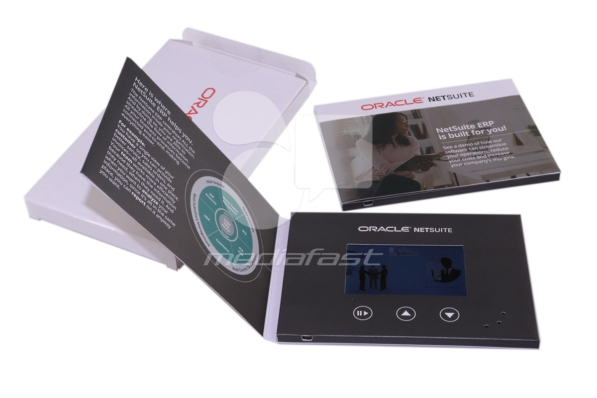 Oracle Netsuite Video Brochure Brochure 4 x 6- Screen: 4