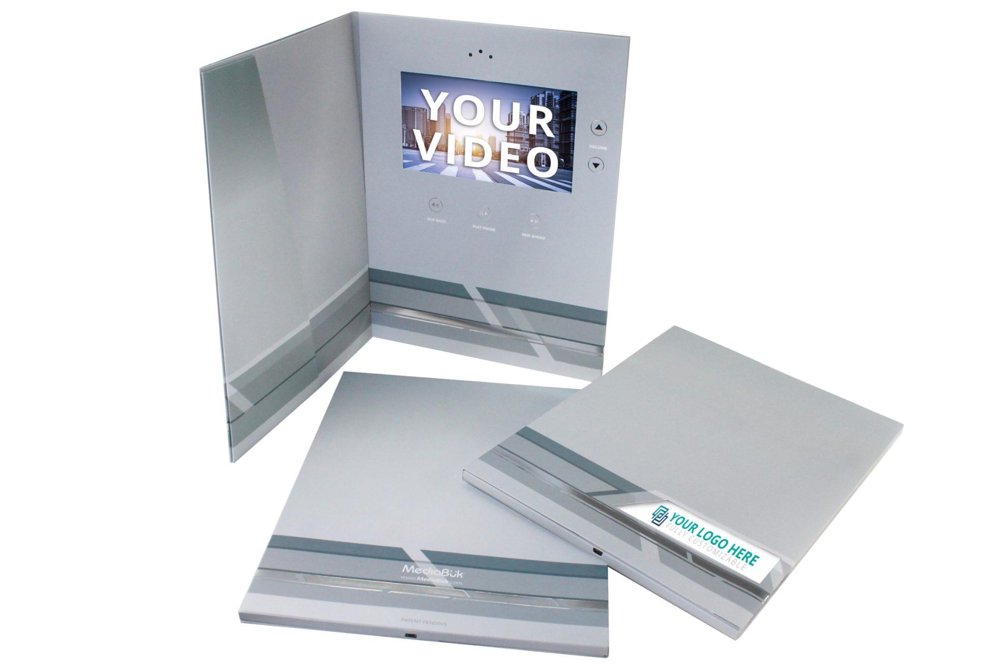 "Portfolio MediaBuk 9x12 with 7 "" screen"