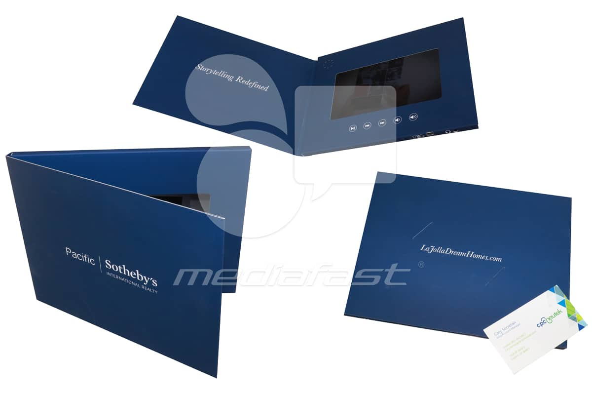 """Pacific. Sotheby's International Reality Video Brochure 5 X9 Screen: 7"""""""