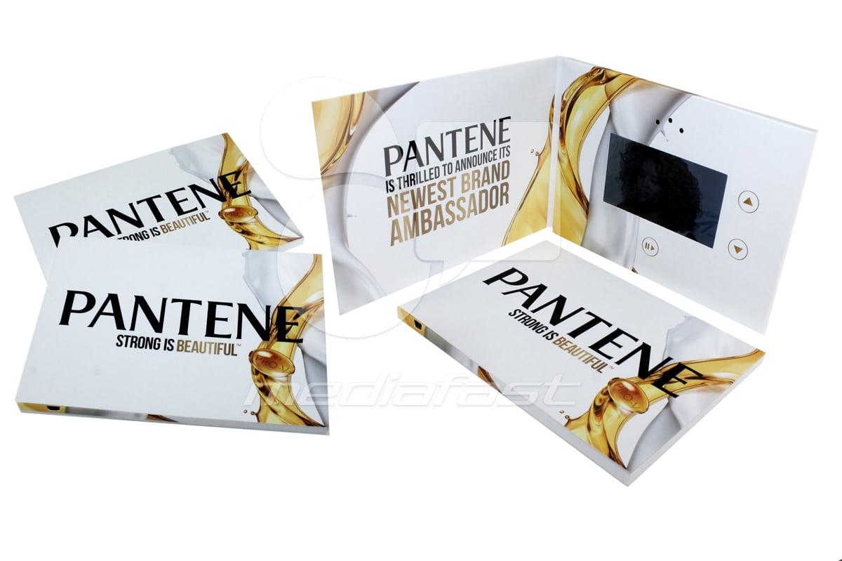 "Pantene Video Brochure 5 X7 Screen: 4"""