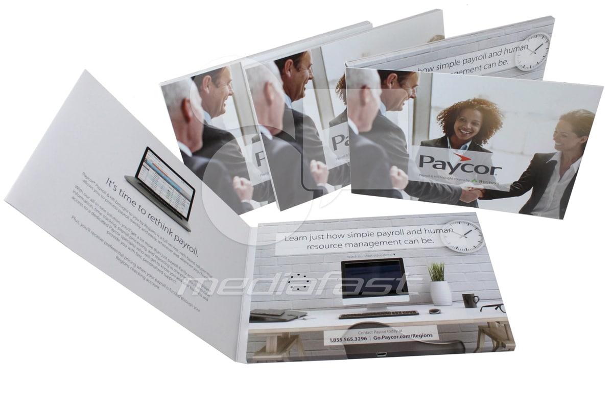 "Paycore Video Brochure 5.83 X 8.23- Screen:2. 4"""