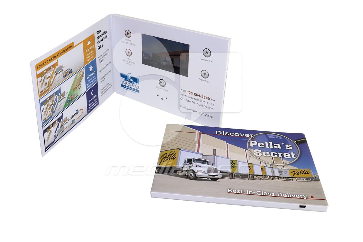 """Pella's Secret Video Brochure 5 X 7- Screen: 4"""""""