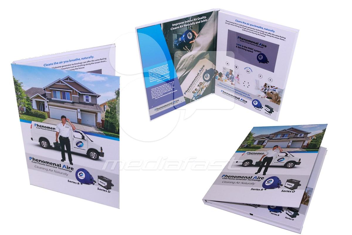"Phenomenal Aire Video Brochure 9 X 12- Screen: 7"""