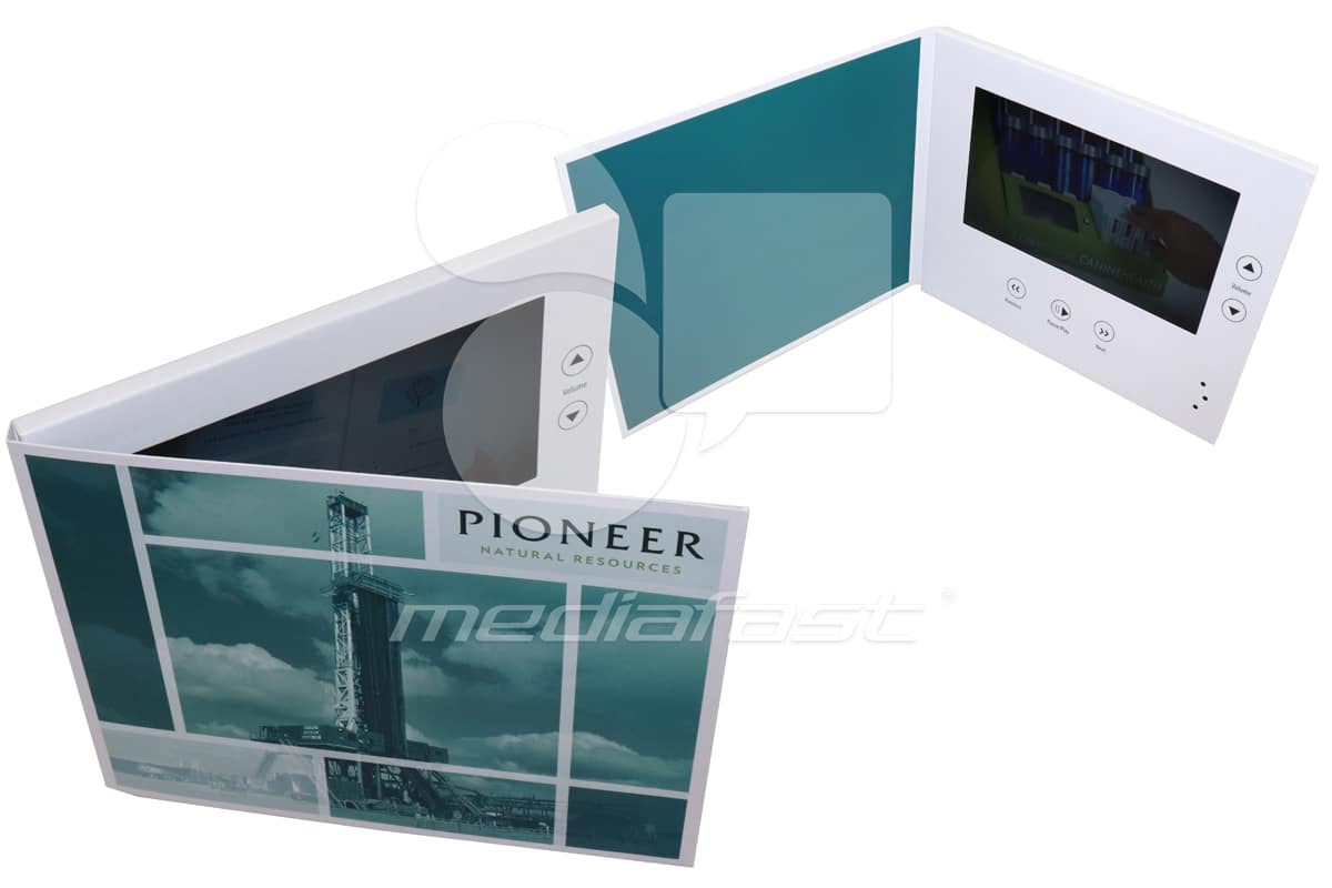 "Pioneer Natural Resources Video Brochure 6.75 X 8.37- Screen: 7"""