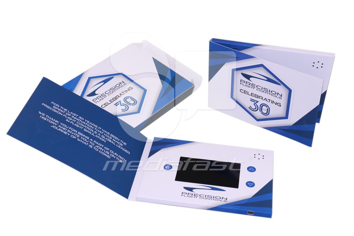 "Precision Flight Control- Mailer Video Brochure 5 X 7- Screen: 4"""