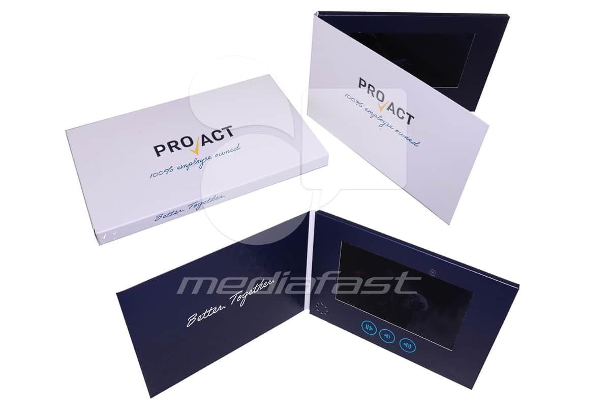 "Pro Act Video Brochure 5 X 7- Screen: 4"""