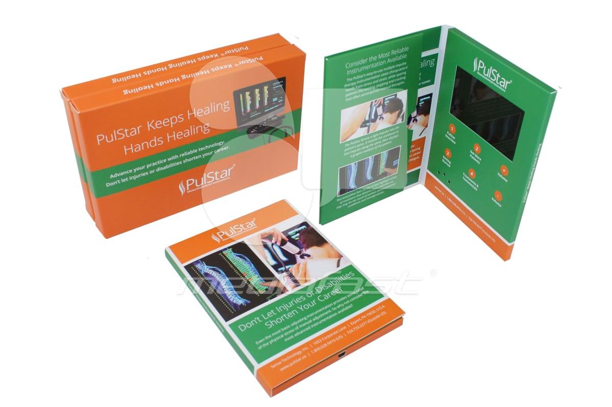 "Pulstar - Mailer - Hard Cover Brochure 5 x 6.9 - Screen: 4"""