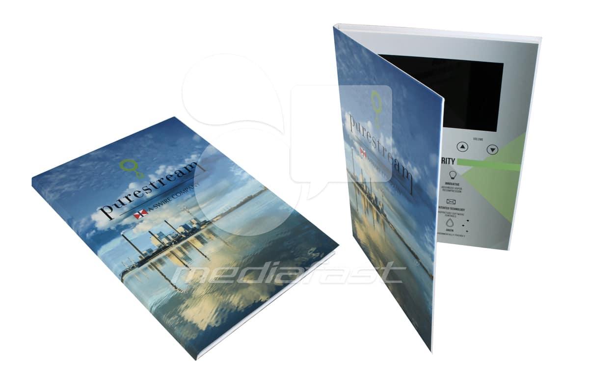 "Purestream Video Brochure 9 X 12- Screen: 7"""