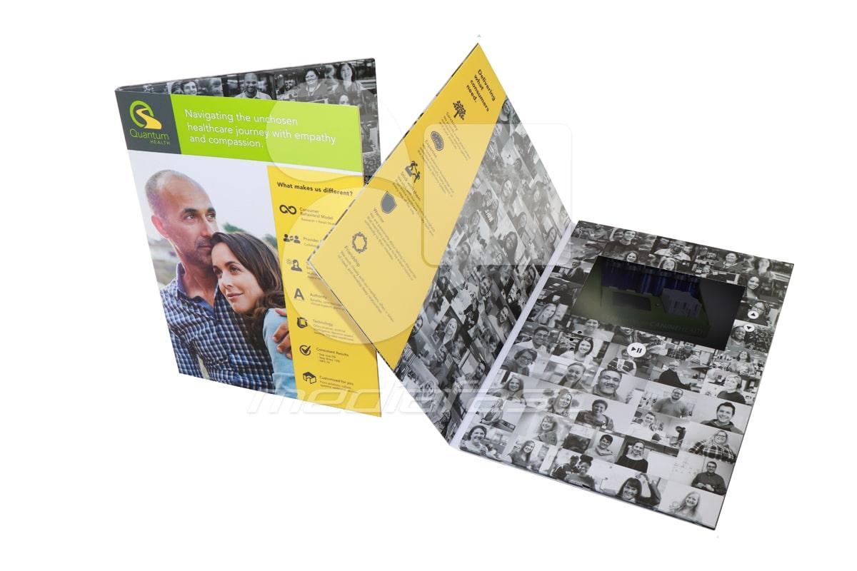 "Quantum- With Pocket Video Brochure 9 X 12- Screen: 7"""