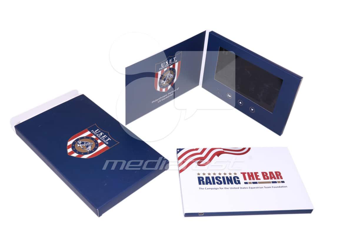 "Raising the Bar Video Brochure 8.5 X 5.75- Screen: 7"""