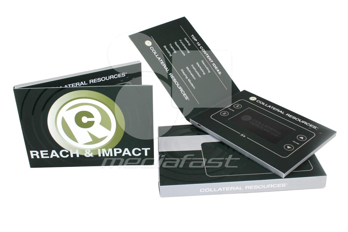 "Reach and Impact Video Brochure 5 X 7- Screen: 4"""