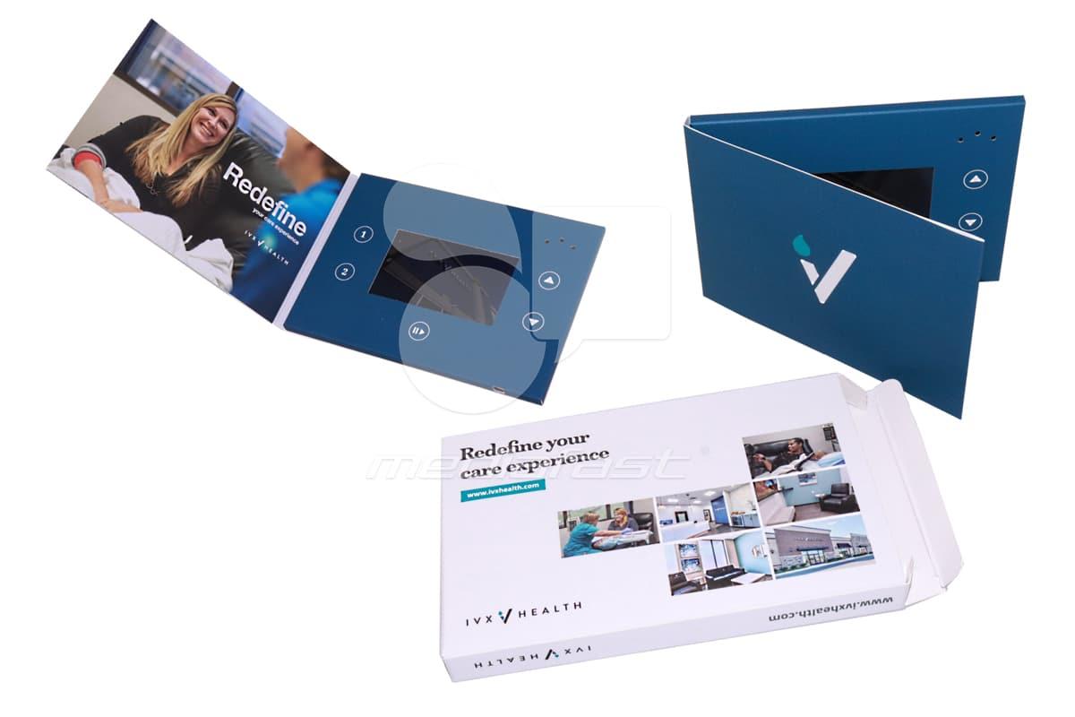 IVX Health Video Brochure: 5 x 7 - Screen: 4