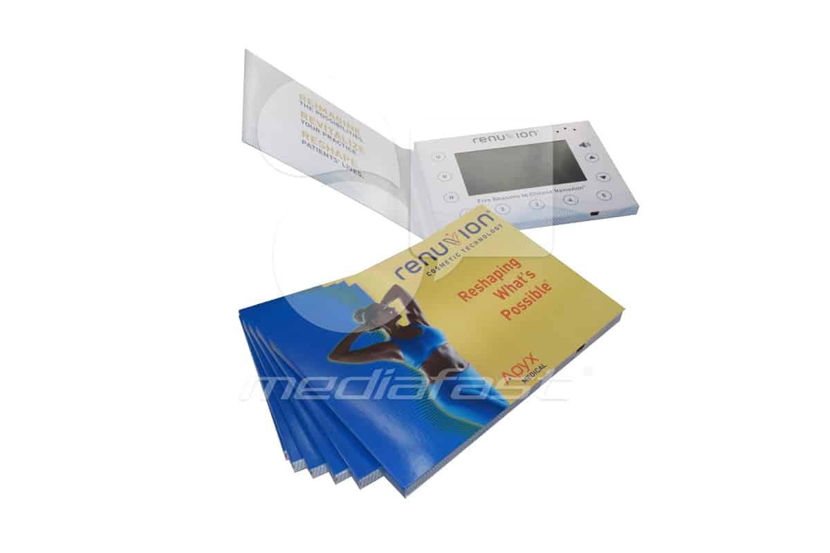 "Renuvion Consmetic Technology Video Brochure 5 X 7- Screen: 4"""