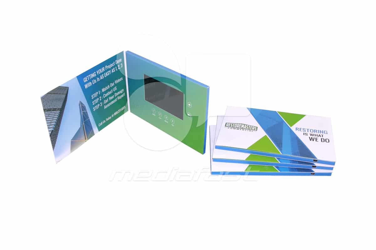 """RestoreMasters Video Brochure 5 X 7- Screen: 4"""""""