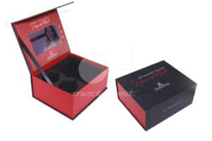 """Retainers For Life Red Video Box.bak 9.5 x 8 x 4 - Screen: 7"""""""